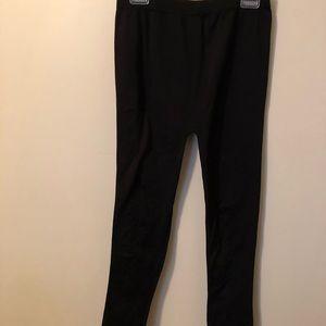 French Laundry Black Fleece lined leggings 2X/3X